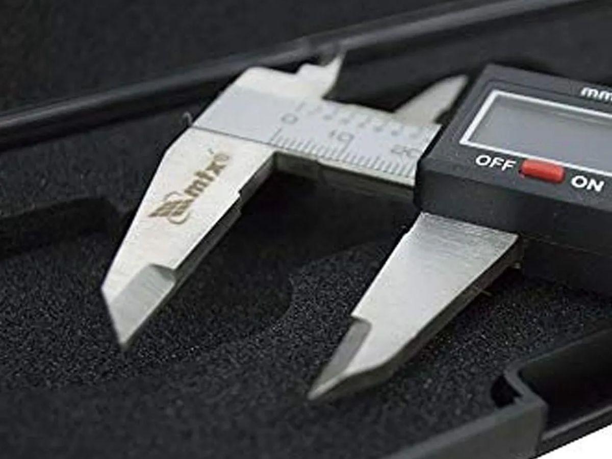 Kit Jogo De Ferramentas 142 Peças Hammer KF142 + Paquimetro Digital 150MM Aço MTX C/ Estojo