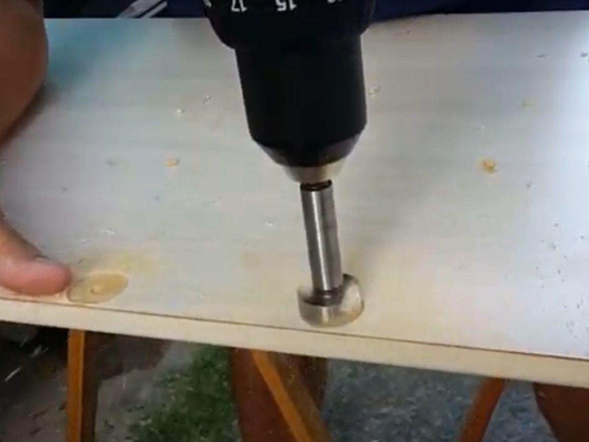 Kit Jogo De Fresa Para Madeira Dobradiça 10 a 35mm Sparta 7044055 Com Estojo