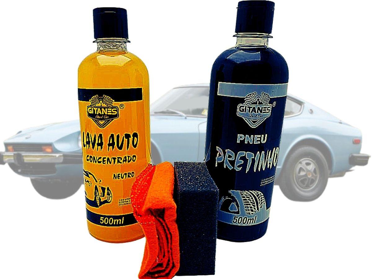 Kit Limpeza Automotiva Gitanes Kit N°1 4 Peças