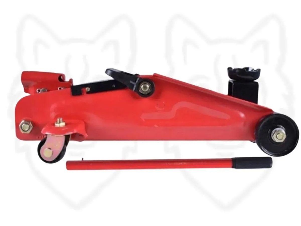 Kit Macaco Hidráulico Sparta 2T + Chave de Roda 17x19x21 + Kit Soquete Fertak 40 Peças