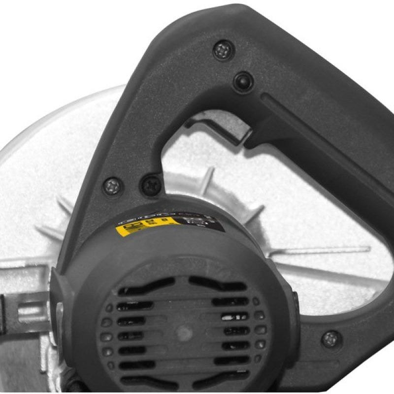 Kit Serra Circular 1100w Hammer Gysc-1100 185mm + Jogo De Soquetes Fertak Com Catraca e Estojo 40 Peças