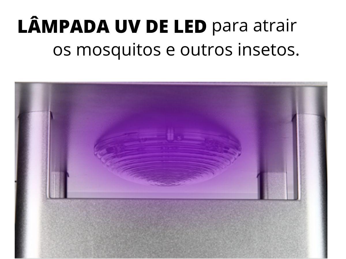 Luminária Armadilha Para Mosquito NSBAO YG-5616