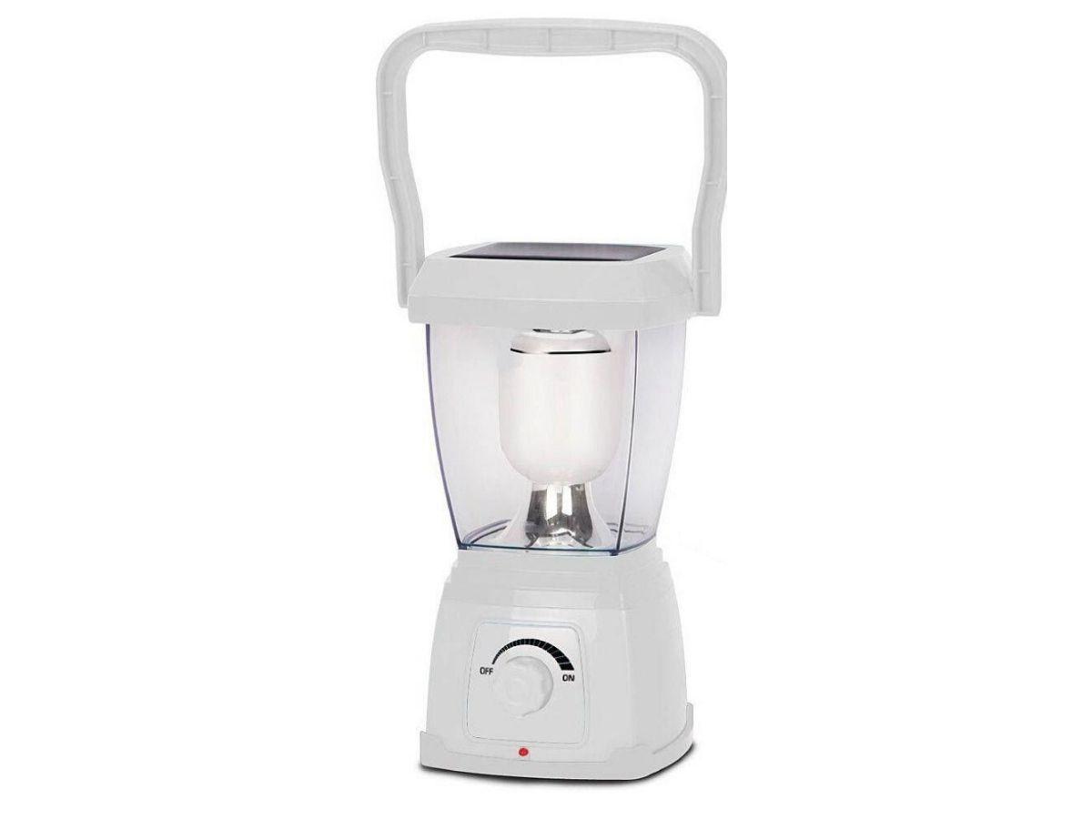 Lampião De Led Portátil NsBao YG-5717 Branco Pérola