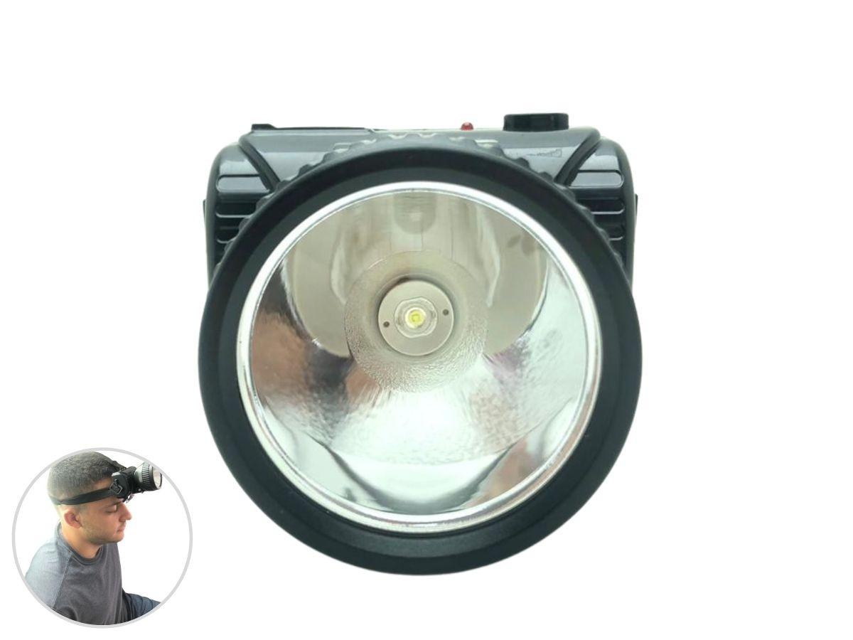 Lanterna De Cabeça Idea 9250-W Recarregável 5w