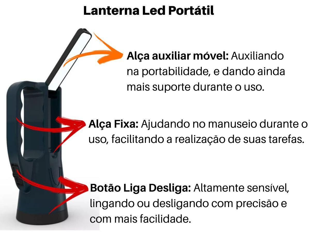 Lanterna De Led Portátil NsBao YG-5714