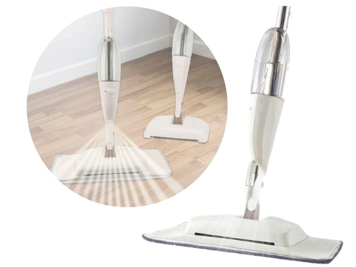 Limpador Mop Spray Vassoura Mágica Globalmix GH702 3 Em 1