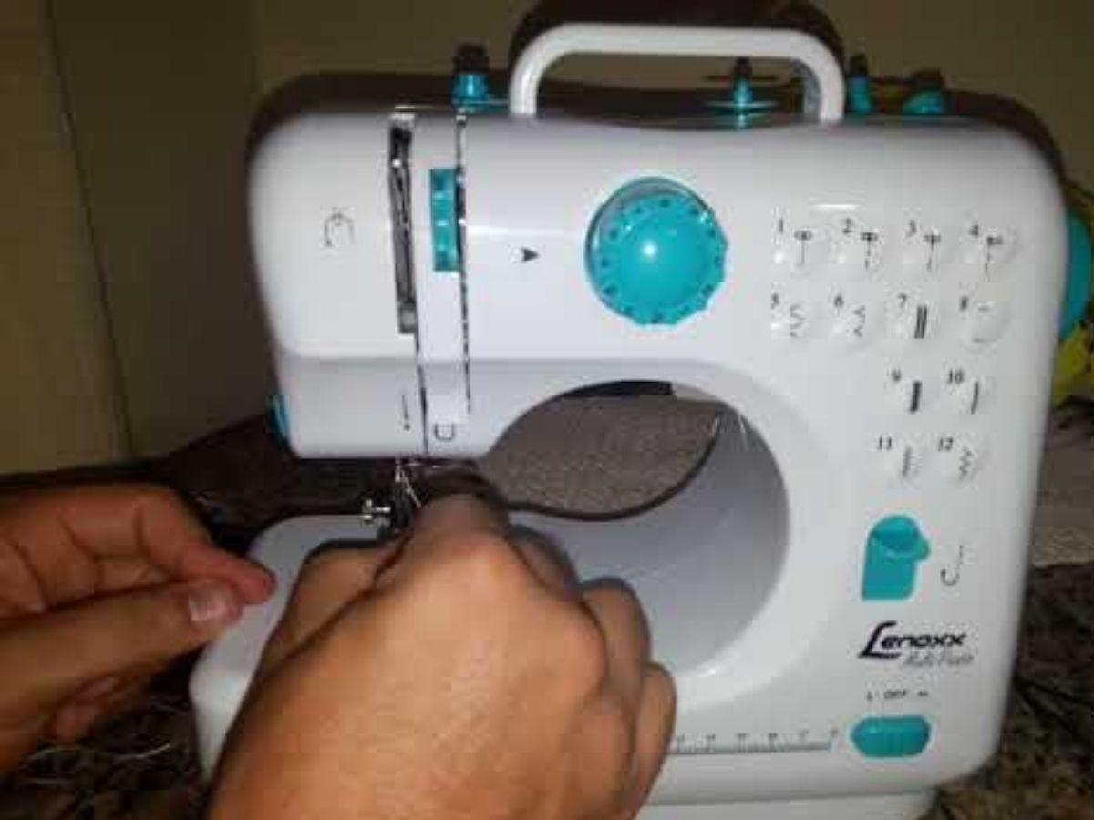 Máquina De Costura 7.2w Lenoxx PSM-101 Portátil Bivolt