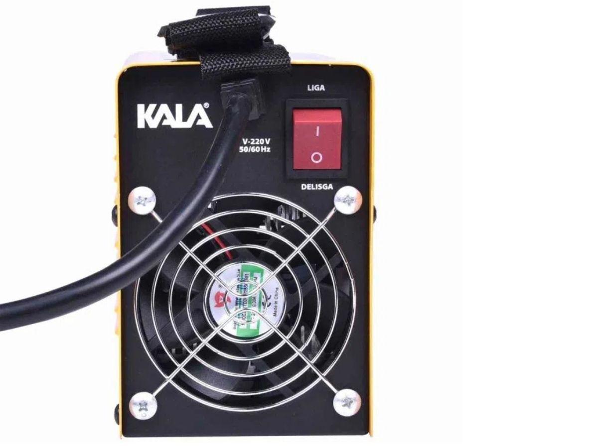 Máquina De Solda Inversora 100A Kala KSI-100 C/ Acessórios