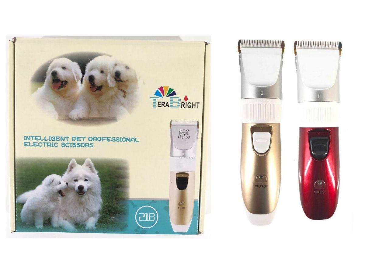 Máquina De Tosa Pet Com Acessórios Á Bateria