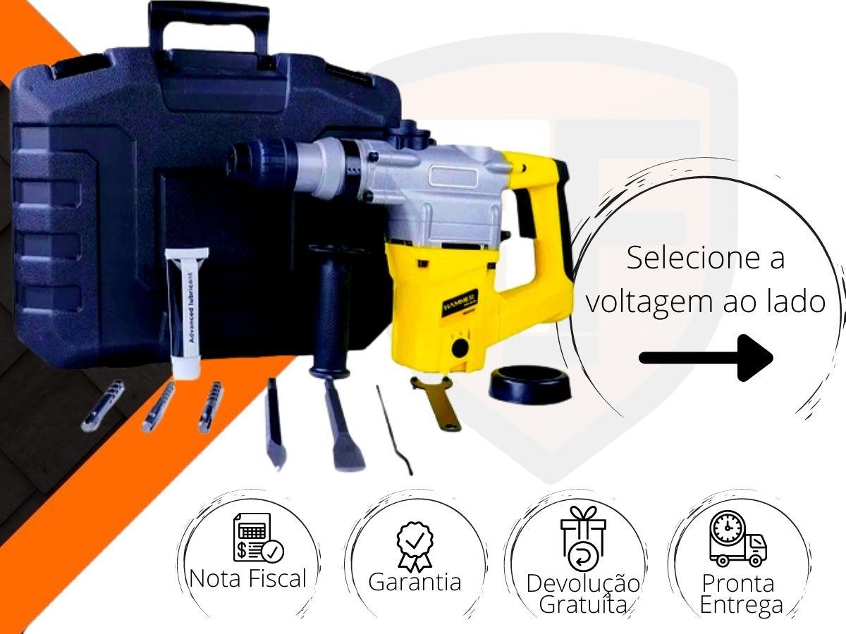 Martelete Combinado 900w Hammer Mr-900 5,0J 900rpm