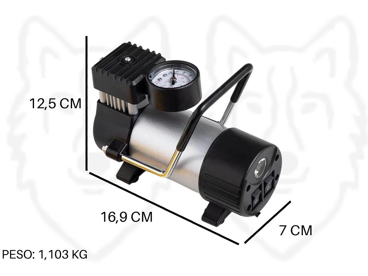 Mini Compressor De Ar á Bateria 12v  Multilaser Au-616