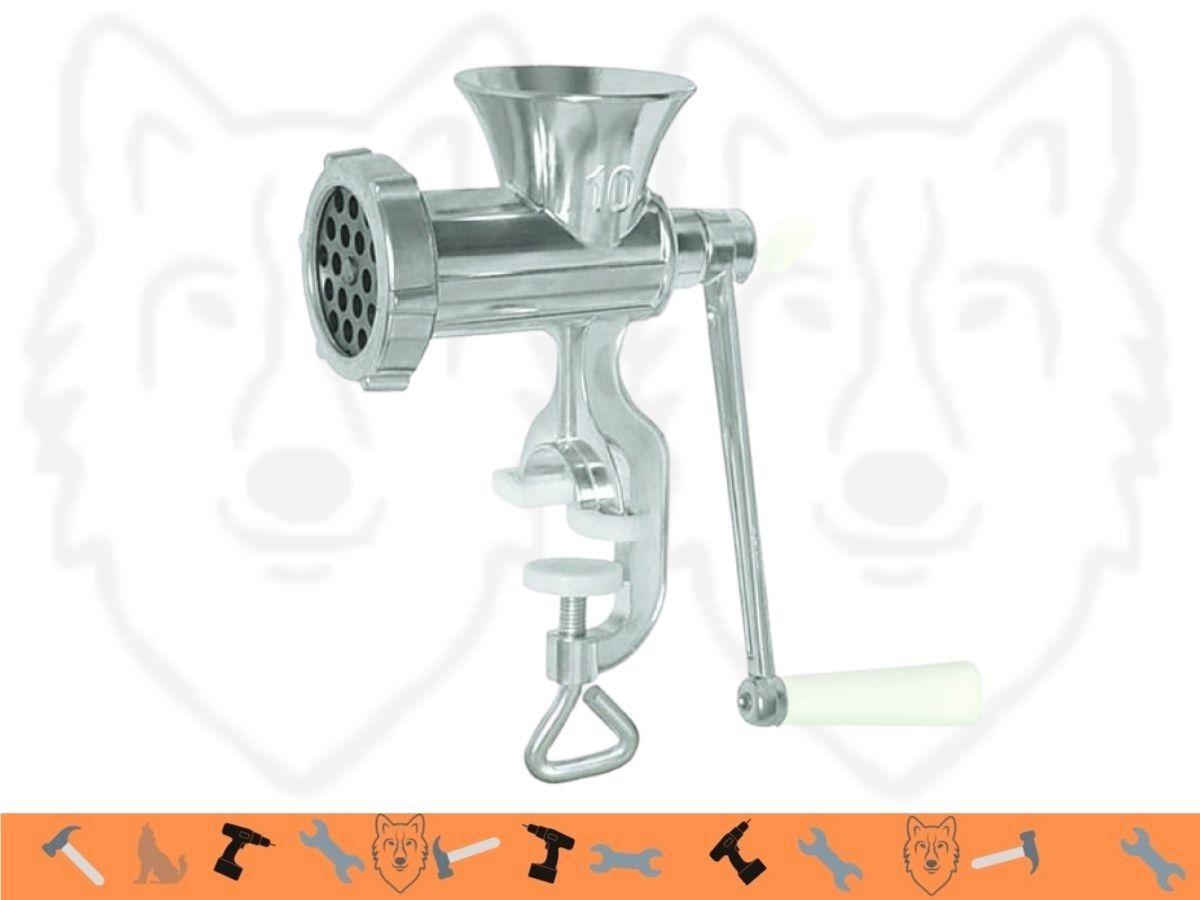 Moedor Manual de Carnes Hauskraft Alumínio MAQC-001 N-10