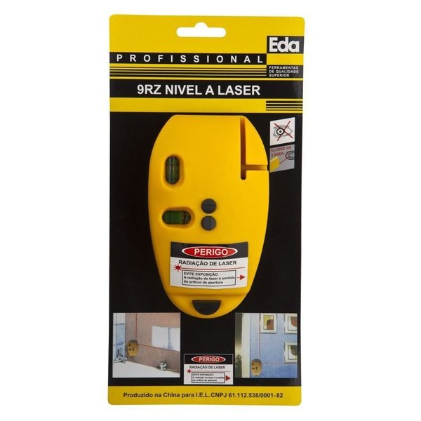 Nível Laser Eda 9Rz 90° Feixe Horizontal e Vertical