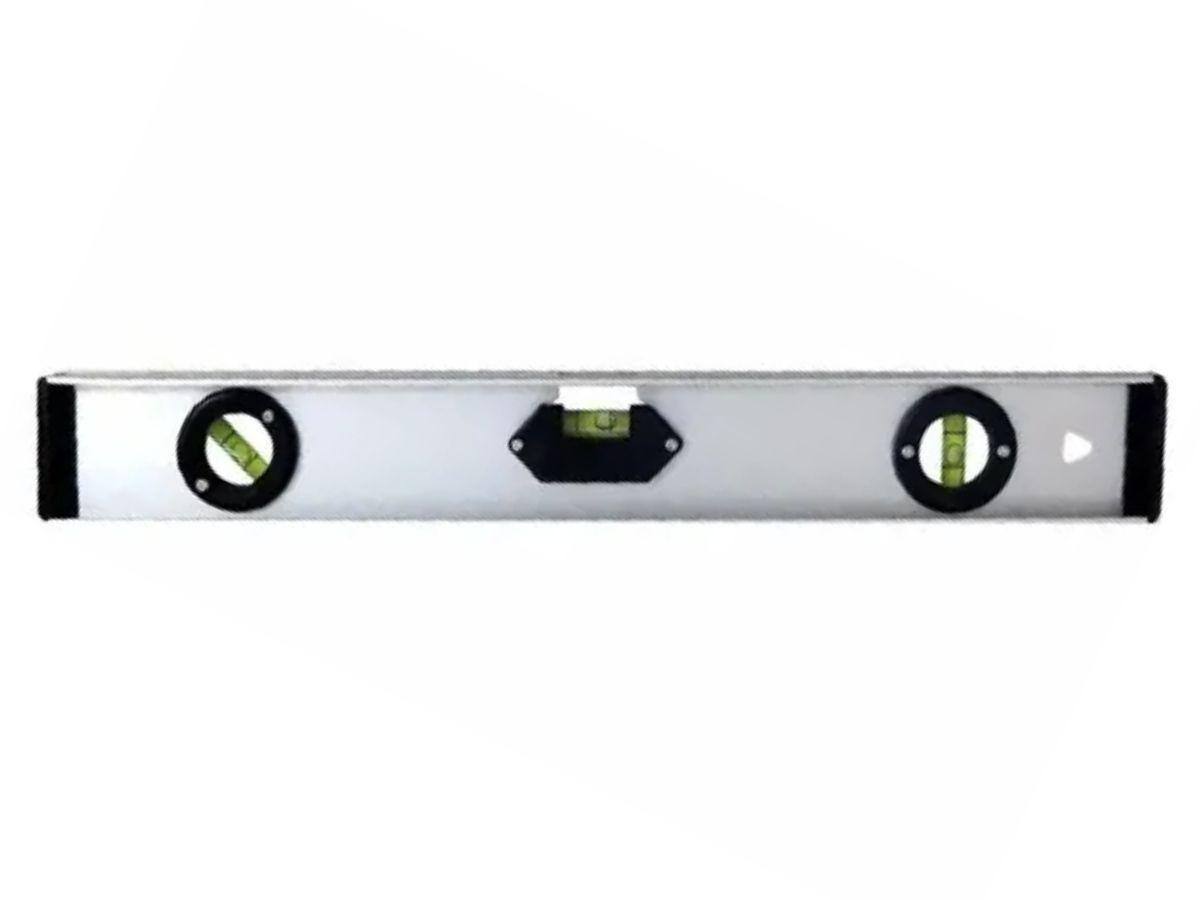 Nível De Alumínio Manual Bestfer BFH0076 3 Bolhas 30cm