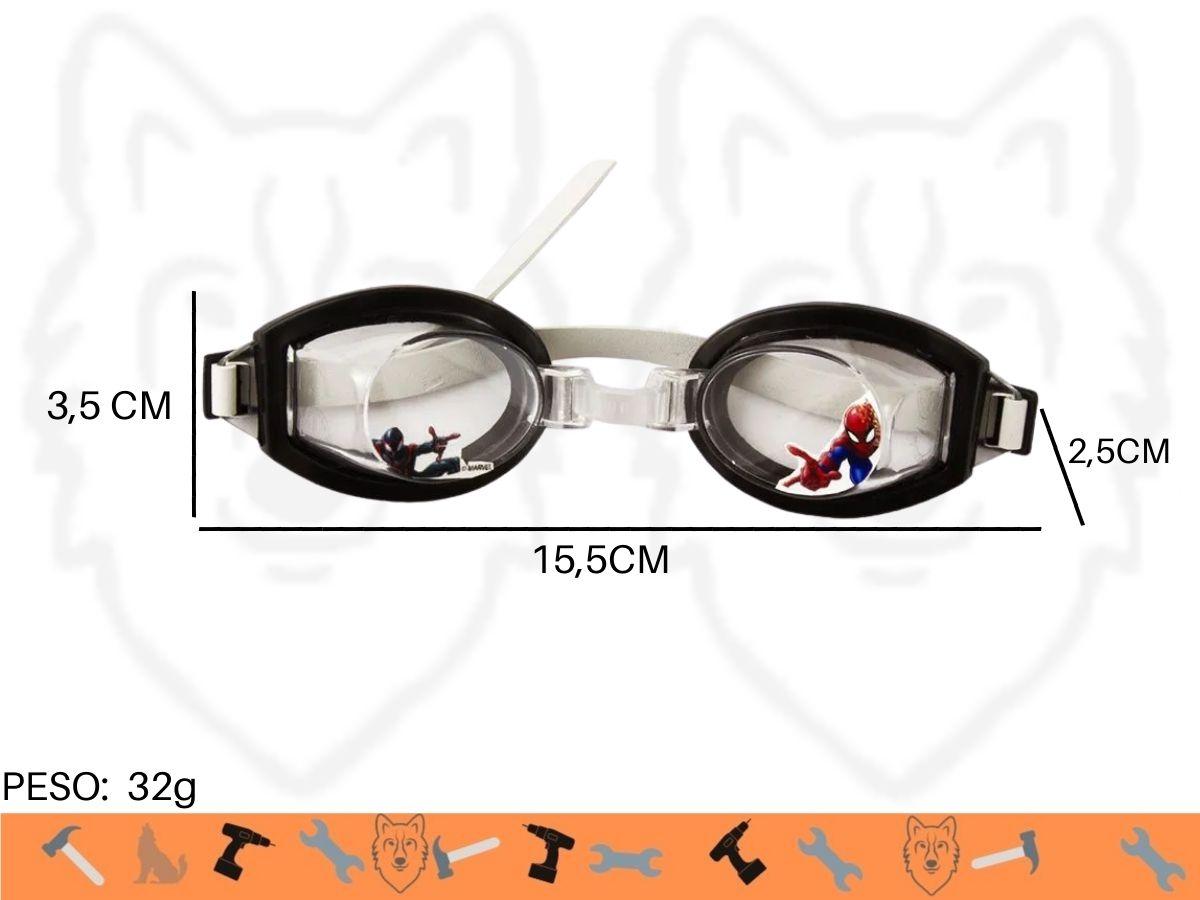 Óculos De Natação Infantil Etihome DYH-236 Homem Aranha