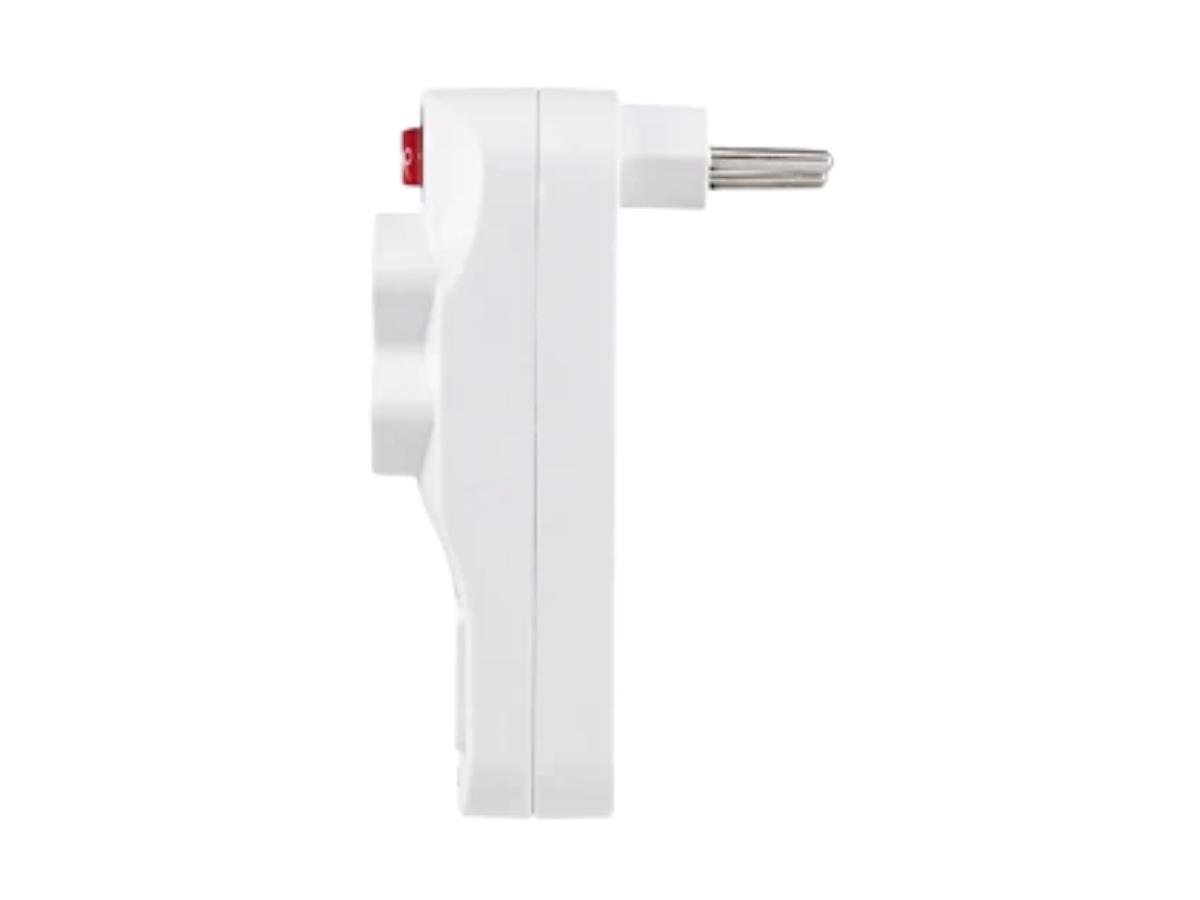 Plug Adaptador Filtro De Linha C/ 2 Entradas Usb Made Basics FL-2