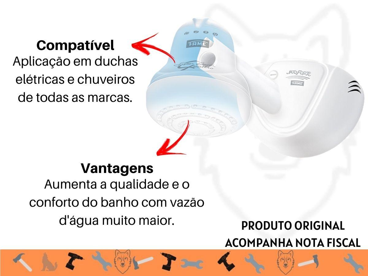 Pressurizador Fame Jatoforte Ducha Chuveiro Eletrobomba 40w