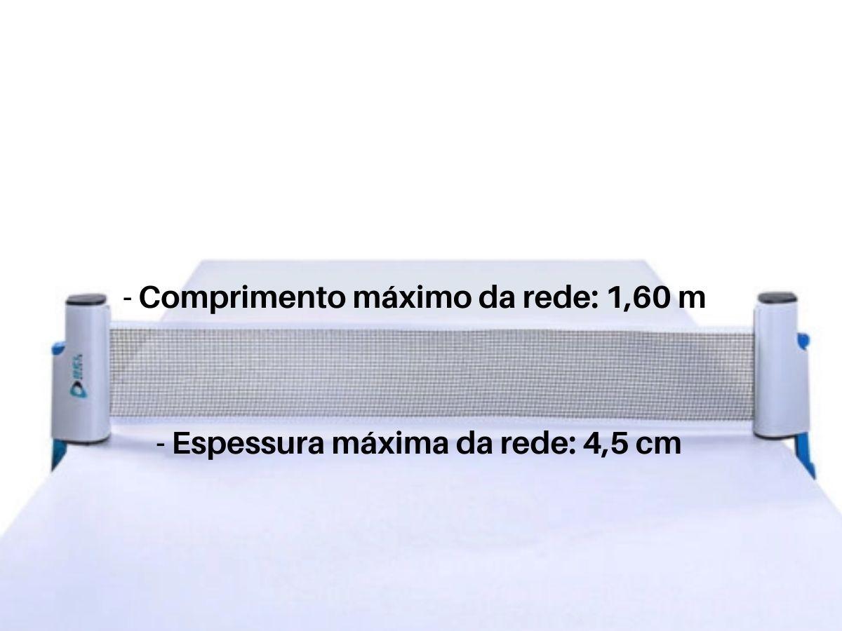 Rede Retrátil Para Ping Pong Belfix 484600 Em Nylon