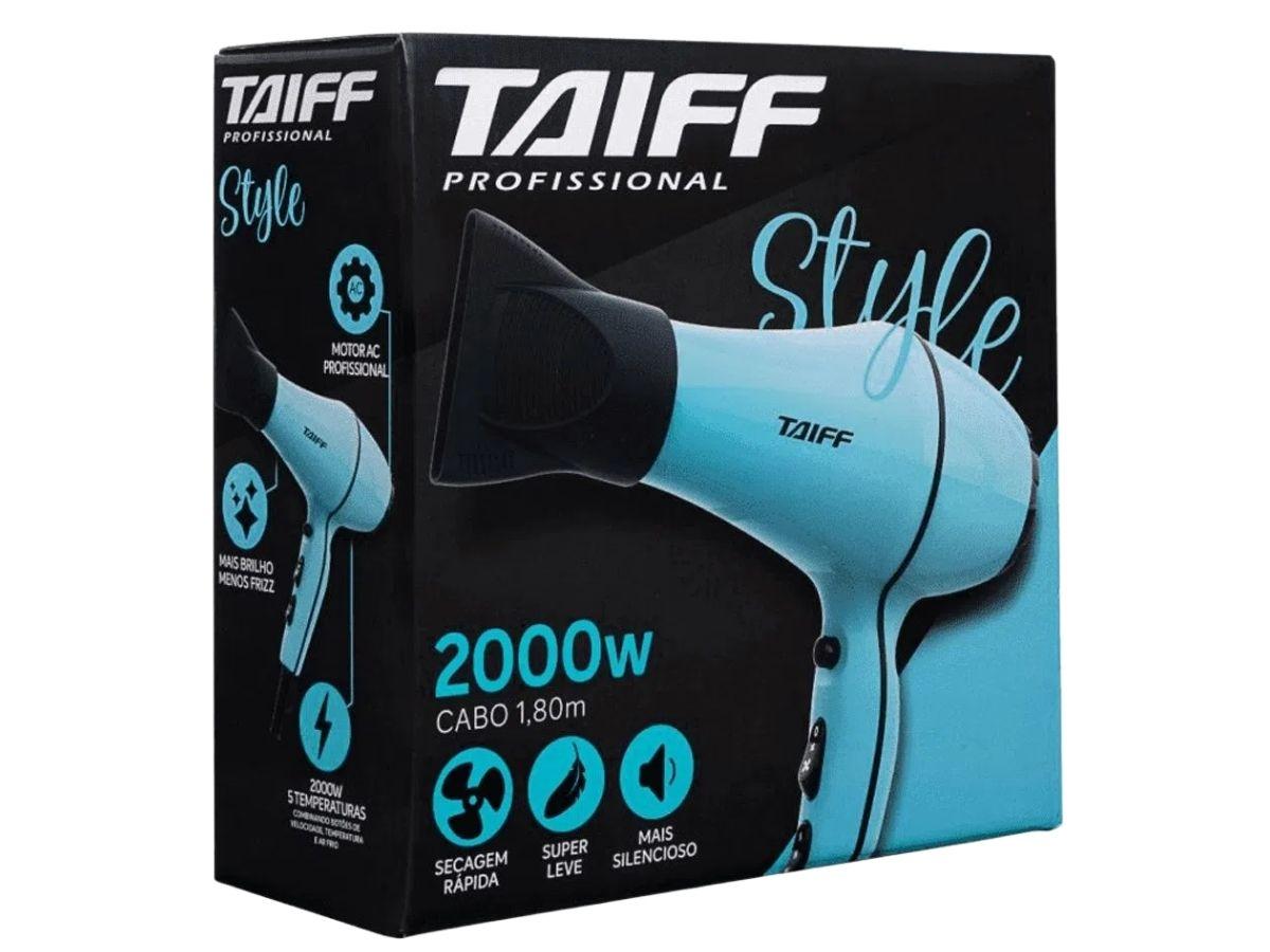 Secador De Cabelos Taiff Style 2000w Profissional