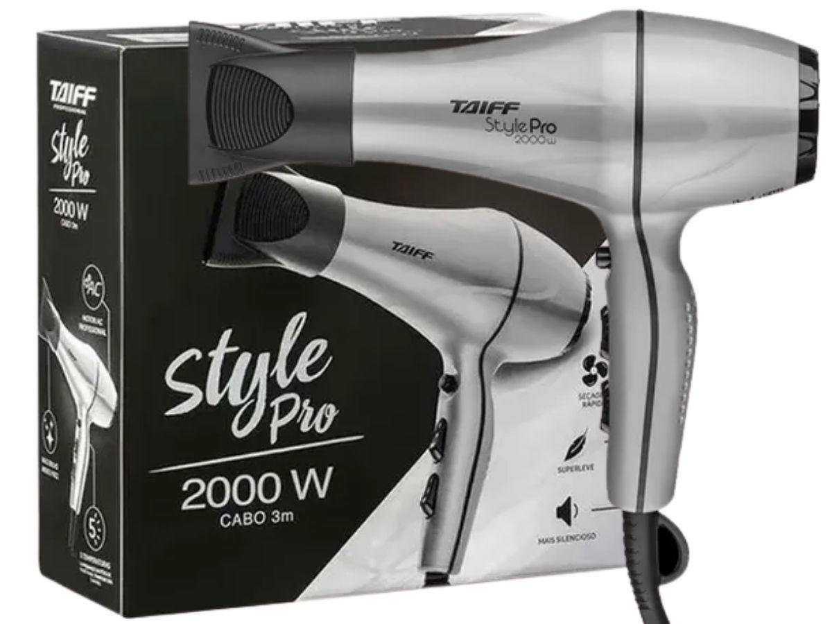 Secador De Cabelos Taiff Style Pro 2000w Profissional