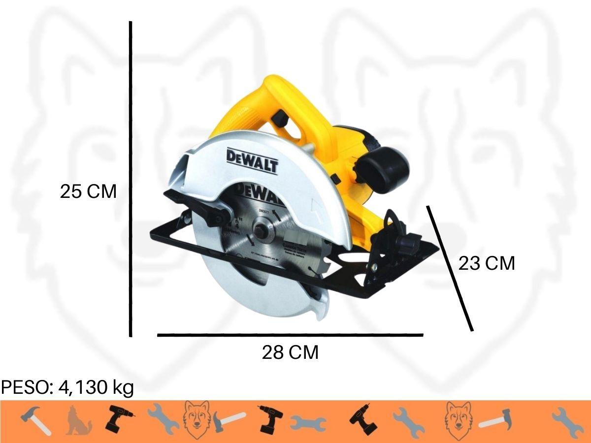 Serra Circular 1400w Dewalt Dwe-560BR 185mm Uso Profissional