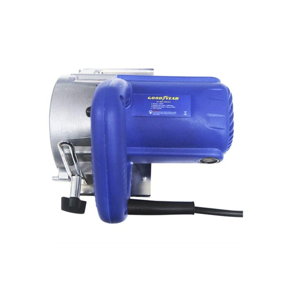 Serra Mármore 1300w Goodyear Gymc-10010 12000rpm Azul