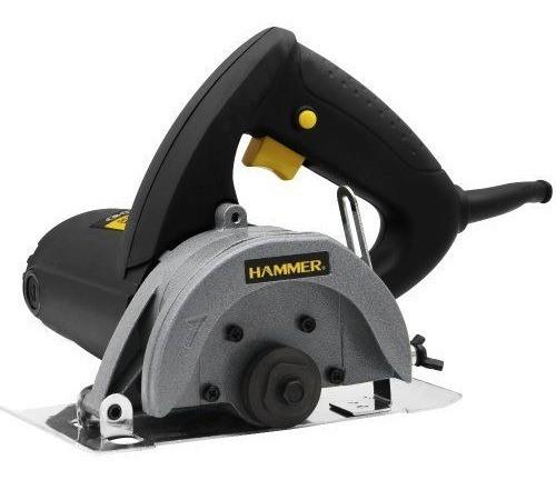 Serra Mármore 1400w Hammer Sm-1400 110mm Preta