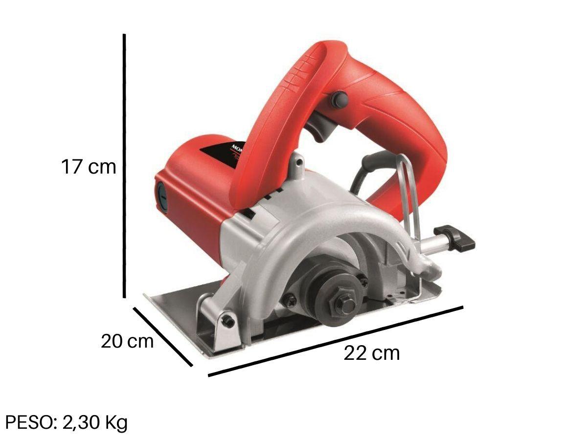 Serra Mármore 1200w Mondial Fsm-03 110mm Rolamentada