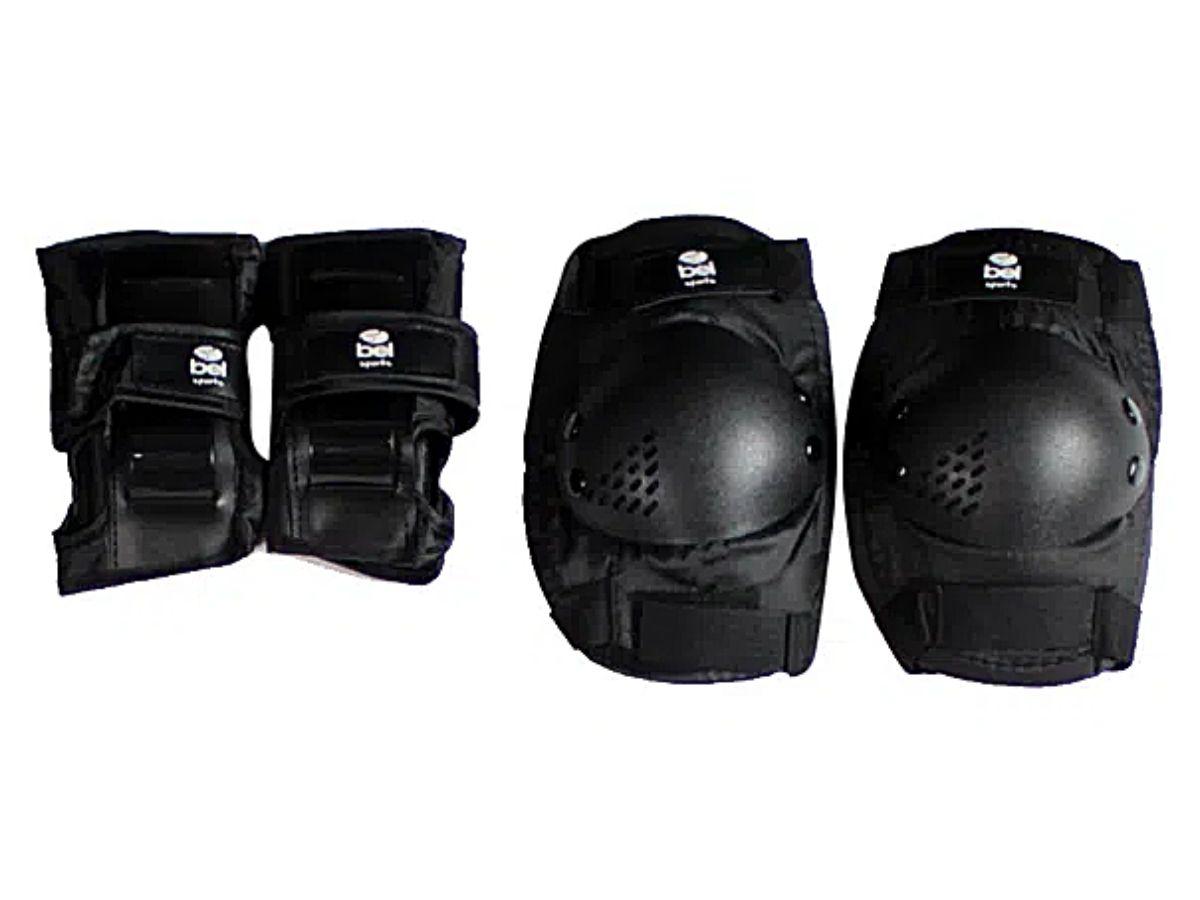 Skate Radical Semi Profissional Bel 4120 Com Kit Acessórios De Proteção
