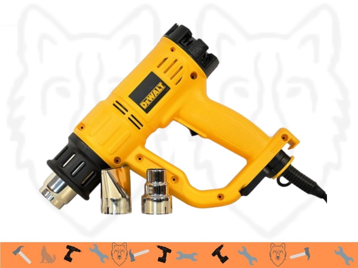 Soprador Térmico 1550w Dewalt D26411 Com Bicos Uso Profissional