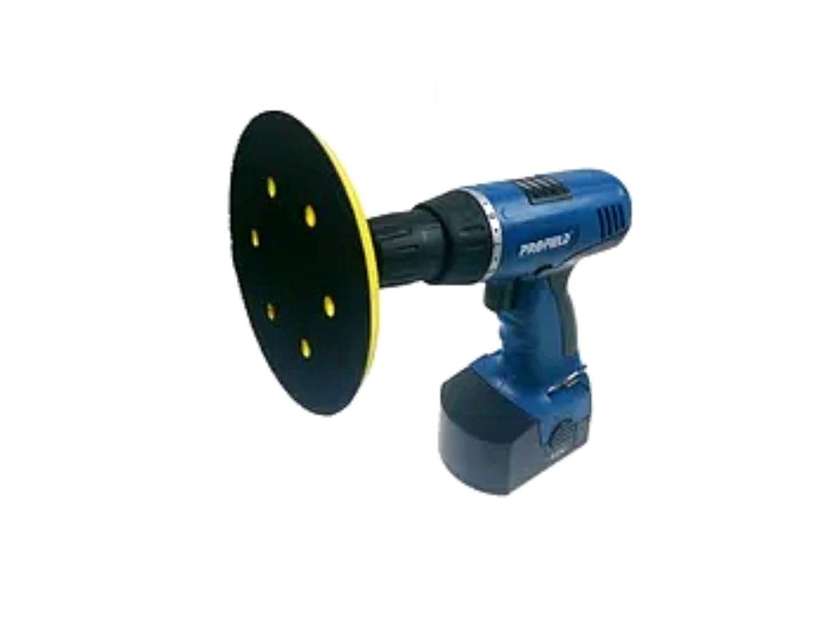 Suporte De Boina Com Velcro Para Furadeira 125mm MTX 762209