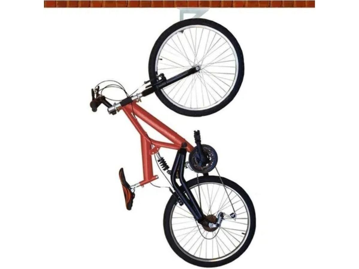 Suporte Para Bicicleta Brasforma SB-01 Branco