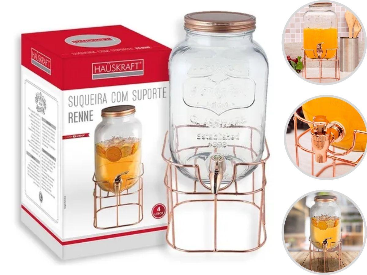 Suqueira Hauskraft Renne SUQR-015 Com Suporte 4 L