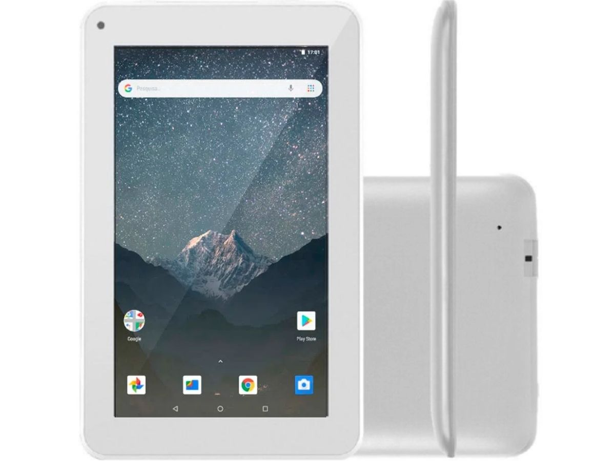 Tablet Multilaser M7S GO 16 GB Android 8.1 7 Polegadas