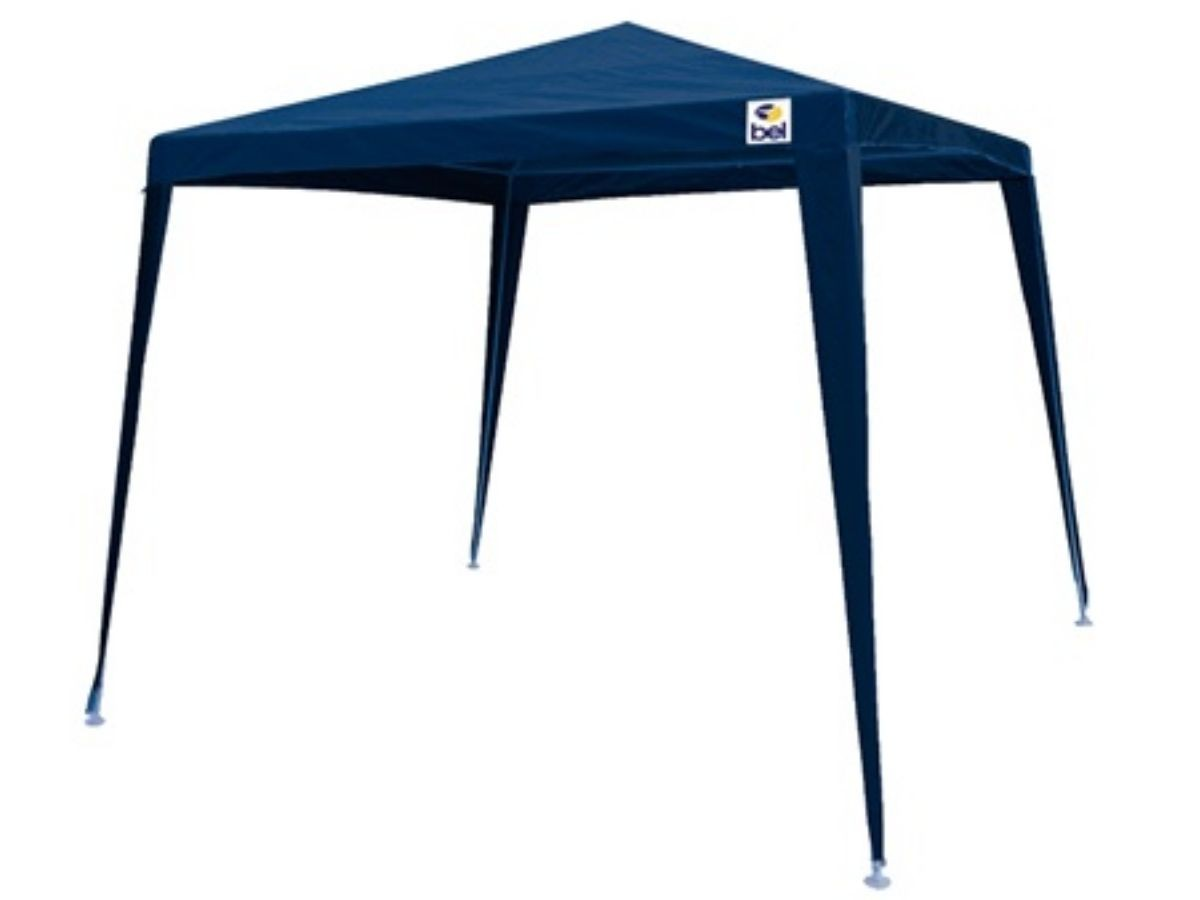 Tenda Gazebo Bel 301202 Azul 2,4X3M Com Bolsa Para Transporte