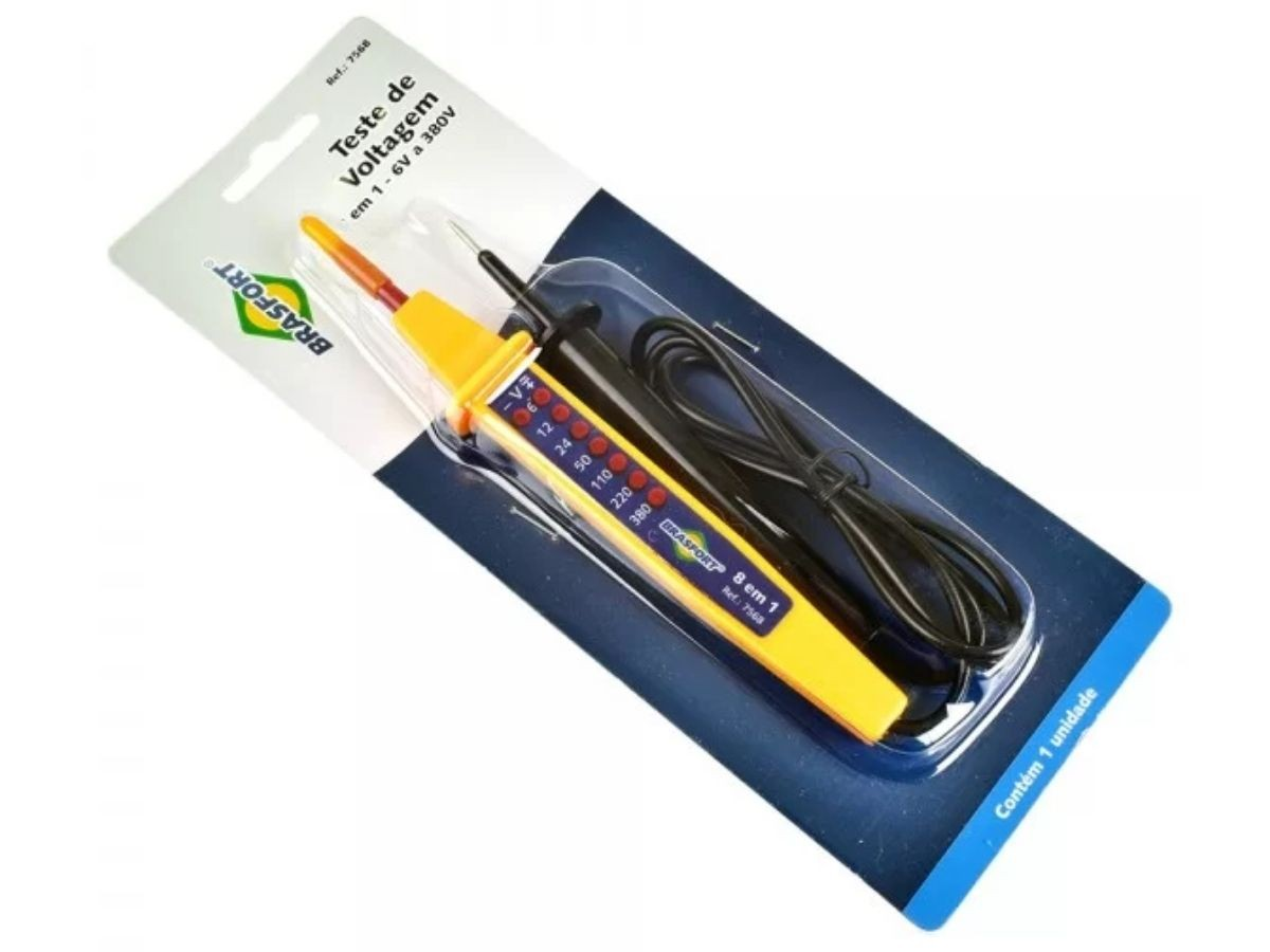 Teste De Voltagem Brasfort 7568 8 Em 1 6v a 380v