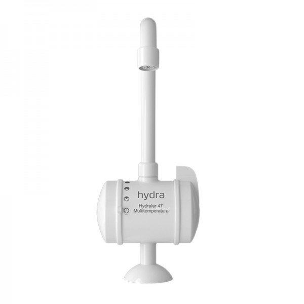 Torneira Elétrica Hydra Hydralar 4t Multitemperatura 1/4 De Volta Bancada Branca