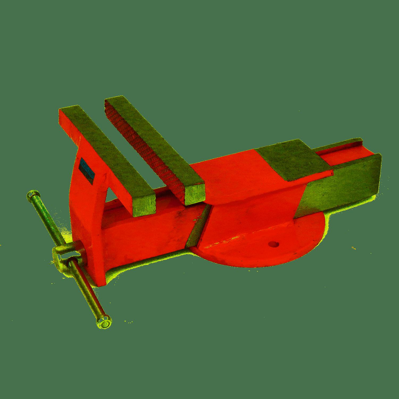 Torno Morsa De Bancada 75mm EDA 3MO Base Fixa Ferro Fundido Numero 3