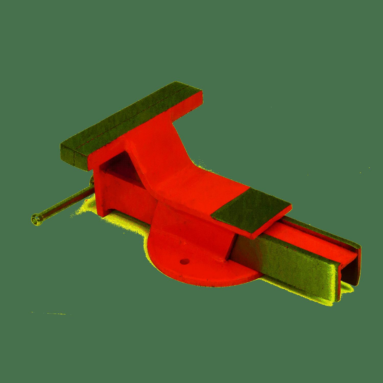 Torno Morsa De Bancada 106mm EDA 3MP Base Fixa Ferro Fundido Numero 4
