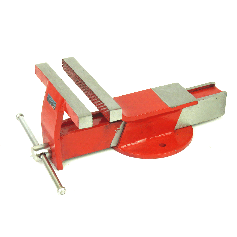 Torno Morsa De Bancada 165mm EDA 3MR Base Fixa Ferro Fundido Numero 6