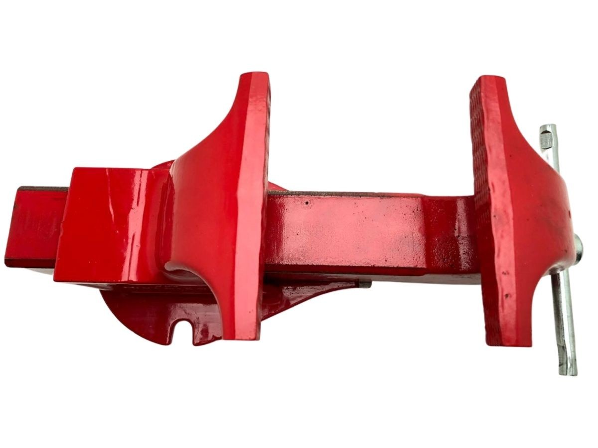 Torno Morsa De Bancada Profissional Metalcava N° 5 Vermelho