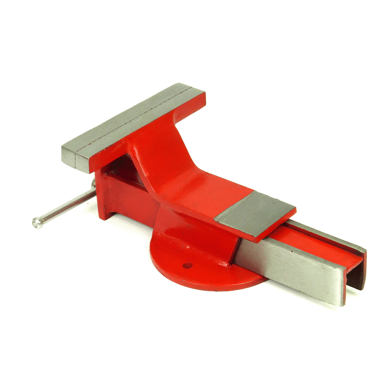 Torno Morsa De Bancada 130mm EDA 3MQ Base Fixa Ferro Fundido Numero 5