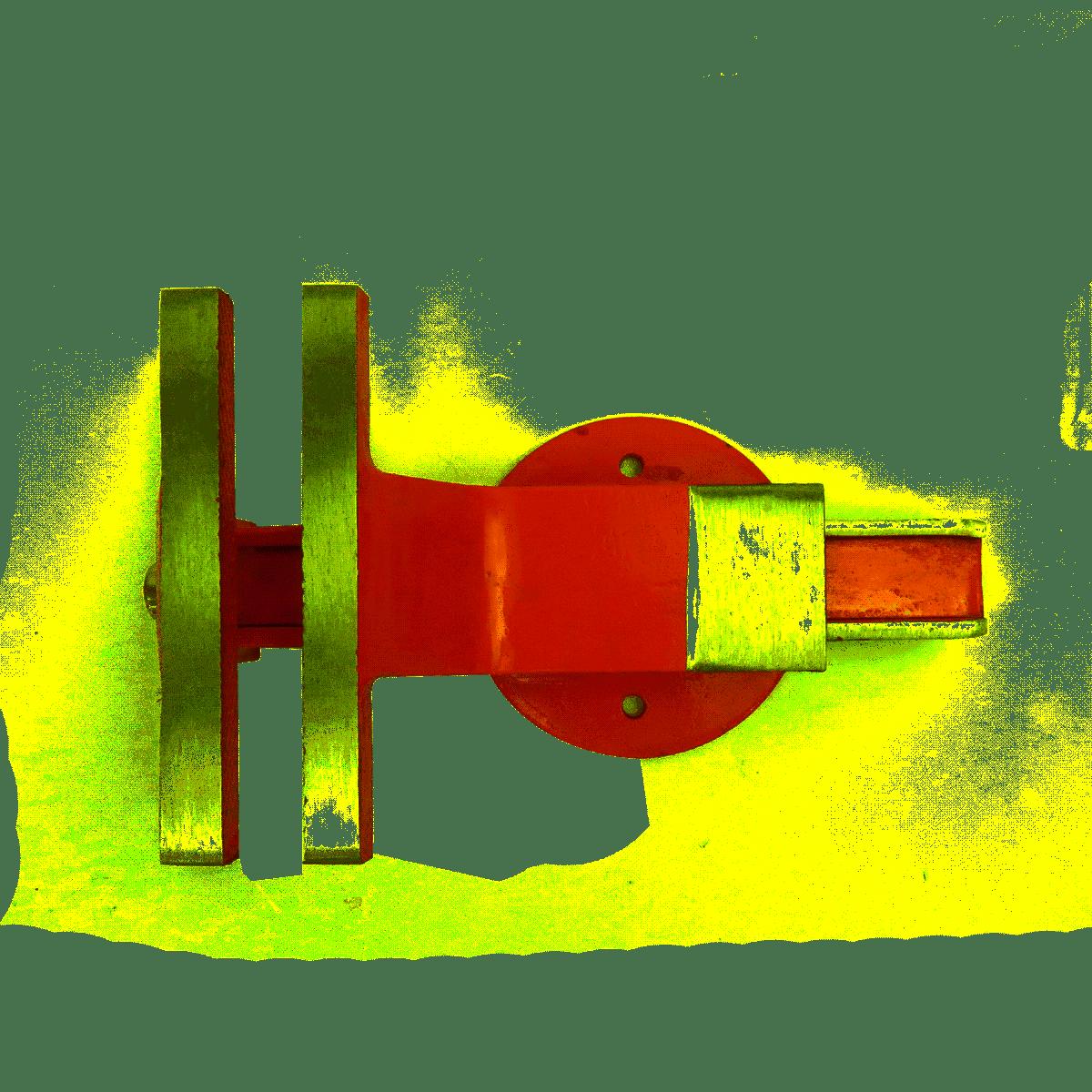 Torno Morsa De Bancada 200mm EDA 5RU Base Fixa Ferro Fundido Numero 8