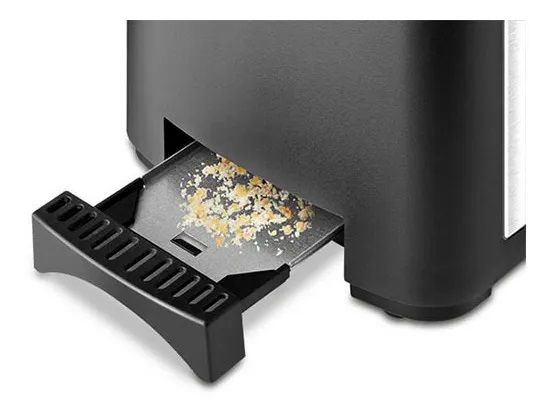 Torradeira Elétrica Mondial T-13 Smart Toast Preto Inox
