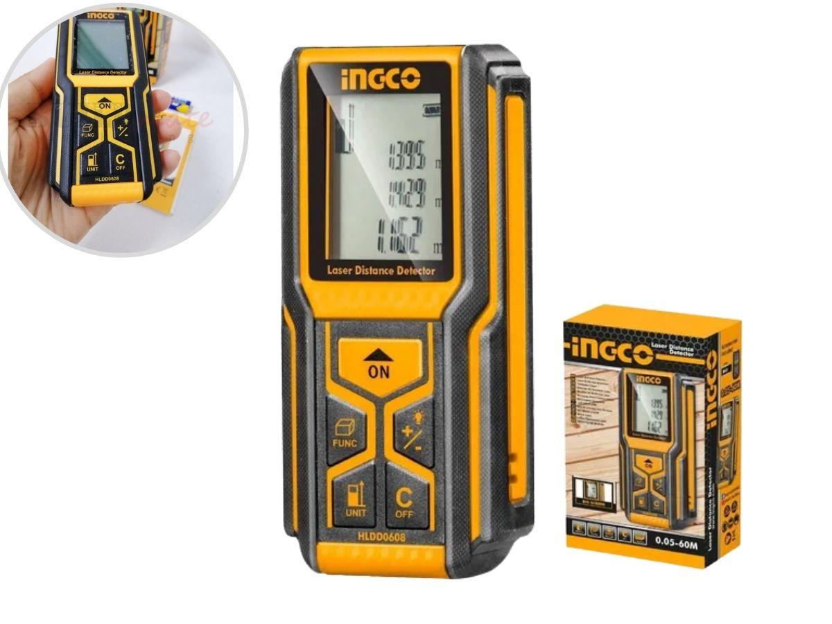 Trena a Laser Digital Ingco HLDD0608 Com Coldre