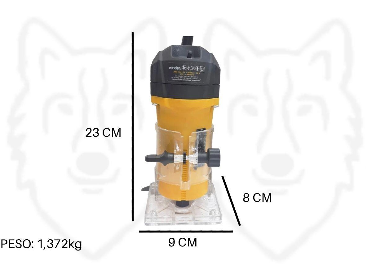 Tupia Para Laminados 500w Vonder Tlv-506 Dupla Isolação