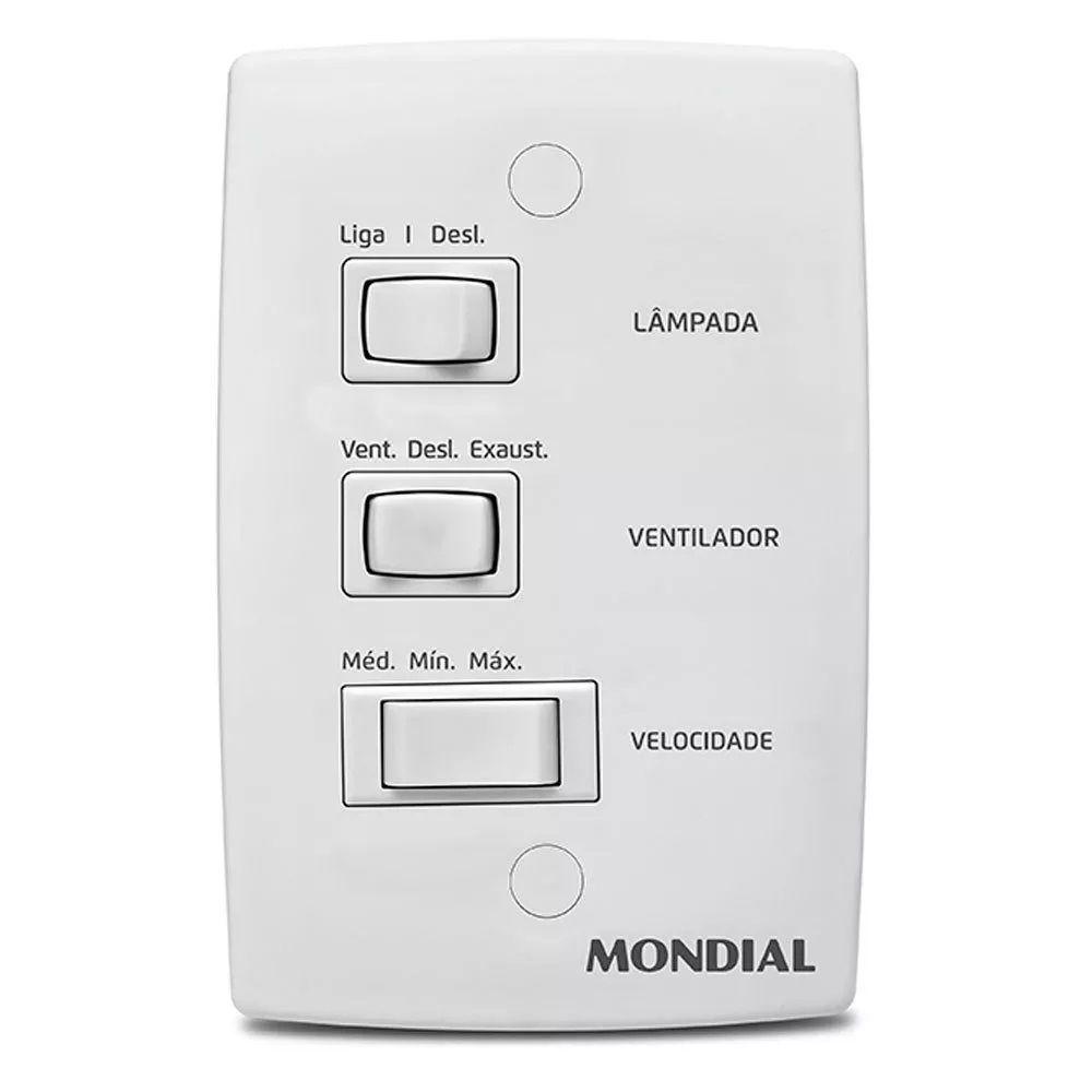 Ventilador De Teto 103cm Mondial Maxi Air VTE-01/VTE-03 C/ 3 Pás Com Interruptor
