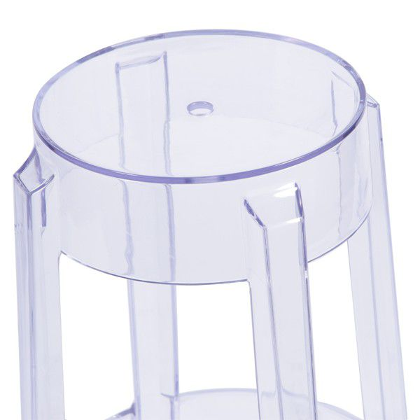 Banqueta PC Invisible Incolor  Or Design