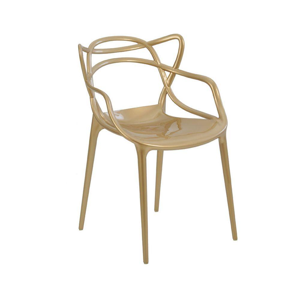 Cadeira Allegra Champagne PP Rivatti