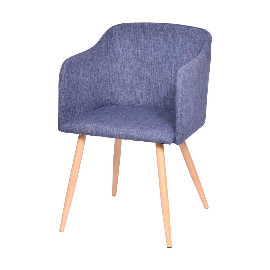 Cadeira Charla com Braço Base Clara Or Design